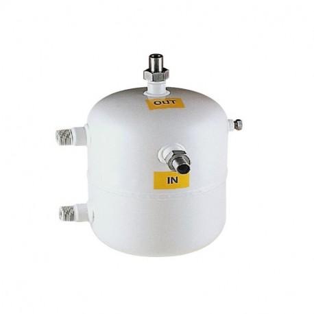 Condensatori ad acqua a sepentina verticale YV