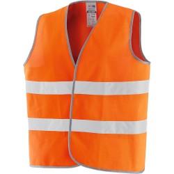 """gilet ad alta visibilità """"new way"""" arancio"""