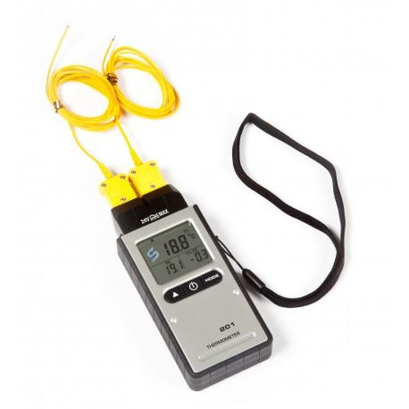 termometro digitale doppia sonda