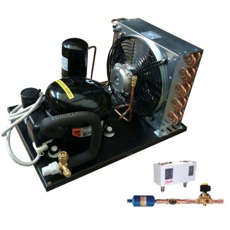 unità condensatrice ad aria compressore nj9238gk a valvola con accessori