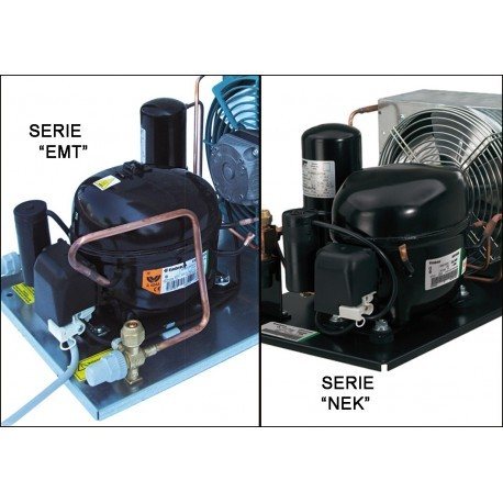 Unità condensatrice ad aria con compressore NEK6144GK 02