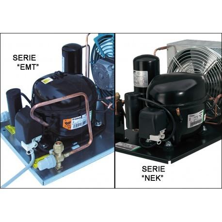 Unità condensatrice ad aria con compressore NEK6165GK tropicalizzata