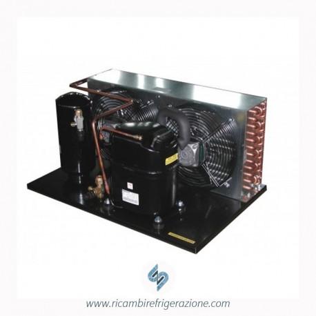 unità condensatrice ad aria compressore nj2192gk a valvola con doppia ventola