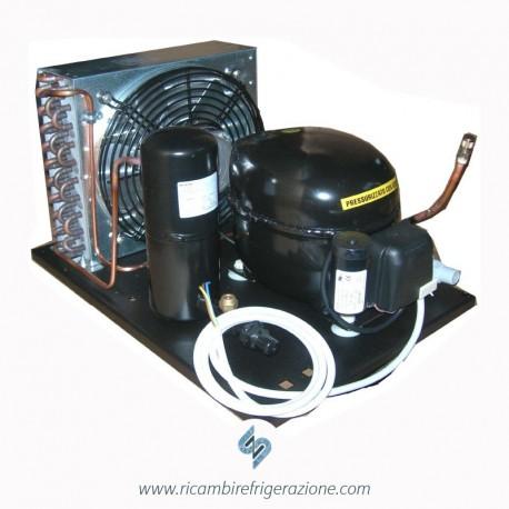 unità condensatrice ad aria compressore nj2192gk doppia ventola con accessori