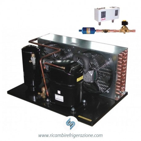 unità condensatrice ad aria compressore nek6213gk a valvola tropicalizzata con accessori