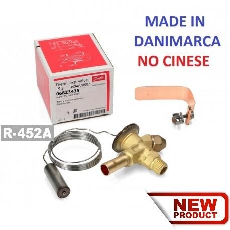 VALVOLA DI ESPANSIONE TERMOSTATICA DANFOSS T2 R452A
