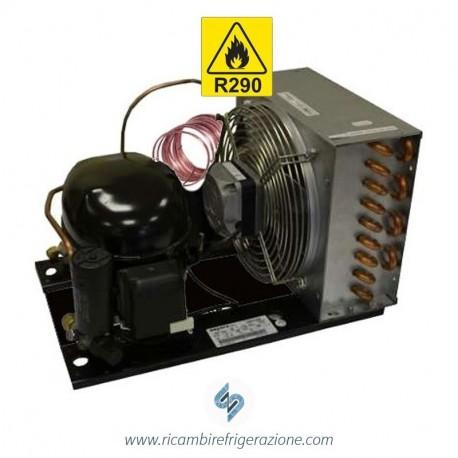 unità condensatrice ad aria compressore emt6165u a capillare