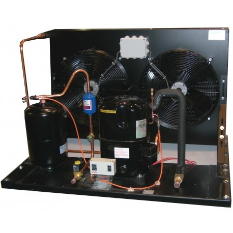 Unità condensatrice ad acqua compressore FH2480Z a valvola con condensatore ZV2