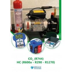 CO2 (R744) E HC (R600a-R290-R1270)